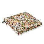 Avaco Outdoor Multicolor Square Wicker Chair Seat Cushion