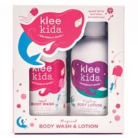 Luna Star Naturals Klee Kids Regal Body Lotion and Dazzling Body Wash Gift Set