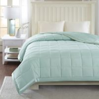 Madison Park Windom 3M Scotchgard Down Alternative Full/Queen Blanket in Seafoam
