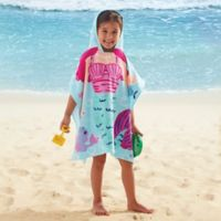 Kids' Hooded Mermaid Towel