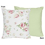 Sweet Jojo Designs Riley's Roses Decorative Throw Pillow