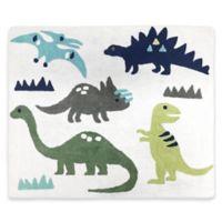 Sweet Jojo Designs Mod Dinosaur 30-Inch x 36-Inch Accent Floor Rug