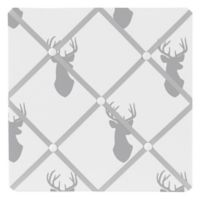 Sweet Jojo Designs Stag Memo Board in Grey/White