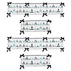 Sweet Jojo Designs Mountains 4-Piece Reversible Crib Bumper Set