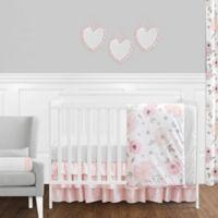 Sweet Jojo Designs Watercolor Floral 11-Piece Crib Bedding Set