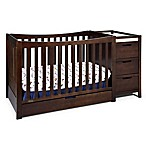 Graco® Remi 4-in-1 Convertible Crib and Changer in Espresso