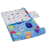 Olive Kids Monsters 3-Piece Sleeping Bag Set in Blue