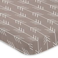 Sweet Jojo Designs Outdoor Adventure Arrow Print Mini-Crib Sheet