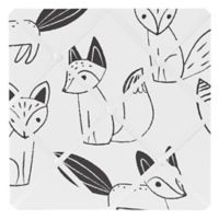 Sweet Jojo Designs® Fox Fabric Memo Board in Black/White