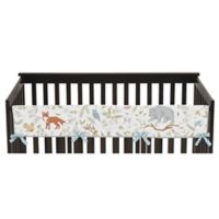 Sweet Jojo Designs Woodland Toile Long Rail Guard