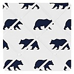 Sweet Jojo Designs Big Bear Memo Board in Navy
