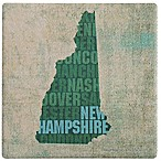 Thirstystone® New Hampshire State Words Single Coaster