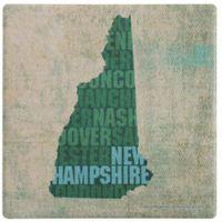 Thirstystone® New Hampshire State Words Single Coaster