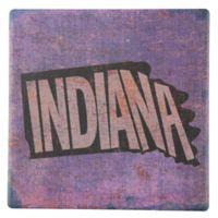 Thirstystone® Indiana Round Single Coaster