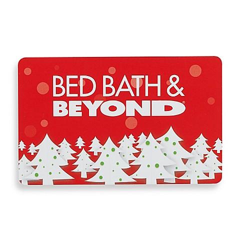 Holiday Christmas Trees Gift Card - Bed Bath & Beyond