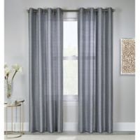 Princess 63-Inch Grommet Top Window Curtain Panel in Grey