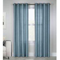 Princess 63-Inch Grommet Top Window Curtain Panel in Mist