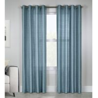 Princess 84-Inch Grommet Top Window Curtain Panel in Mist