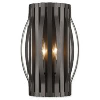 Filament Design Clay 2-Light Wall Sconce in Bronze