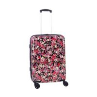 Isaac Mizrahi Harley 22-Inch 8-Wheel Hardside Spinner Carry-on Luggage in Black