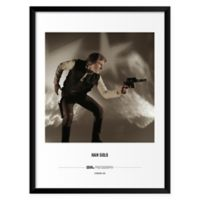 Brian Griffin's Han Solo 19-Inch x 25-Inch Wall Art