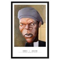 Dan Springer's Samuel L. Jackson 25-Inch x 37-Inch Wall Art