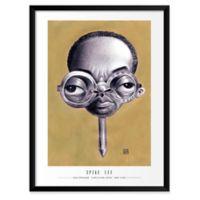 Dan Springer's Spike Lee 19-Inch x 25-Inch Wall Art