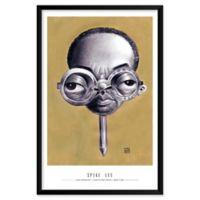 Dan Springer's Spike Lee 25-Inch x 37-Inch Wall Art