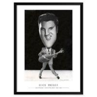 Dan Springer's Elvis Presley 19-Inch x 25-Inch Wall Art
