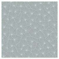 Swedish Patterns Blomma Geometric Wallpaper in Sage