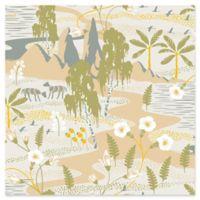 Swedish Patterns Magisk Oasis Wallpaper in Beige