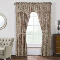 Rockport Federal 63-Inch Pole Top Window Curtain Panel Pair in Linen