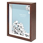 Swing Design Chroma 8 1/2-Inch x 10 1/2-Inch MDF Shadow Box in Walnut