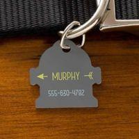 Modern Arrow Fire Hydrant Dog ID Tag