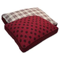 MyPillow® Cotton/Poly Large Pet Bed in Burgundy