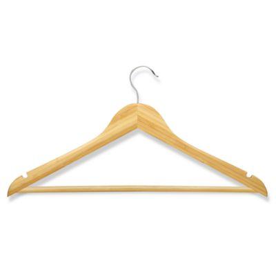 honeycando 4pack wooden suit hangers