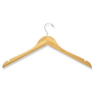 honeycando 5pack wooden shirt hangers