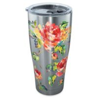 Tervis® Fiesta Rose Pattern 30 oz. Stainless Steel Tumbler