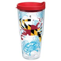 Tervis® Maryland Crab Flag 24 oz.Wrap Tumbler with Lid
