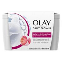 Olay® 33-Count Daily Clean Wet Facial Cleansing Cloths