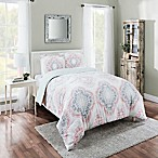 Marble Hill Sabina Reversible Queen Comforter Set in Aqua