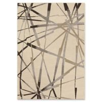 Orian Rugs Epiphany Abstract Thunder Woven 7'10 x 10'10 Area Rug in Ivory