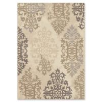 Orian Rugs Epiphany Anzio Scroll Woven 5'3 x 7'6 Area Rug in Ivory