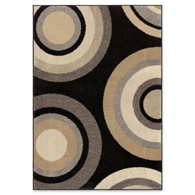 Circle Design Rug From Bed Bath Beyond