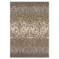 Orian Rugs Epiphany Fontaine Woven 5'3 x 7'6 Area Rug in Grey
