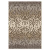 Orian Rugs Epiphany Fontaine Woven 7'10 x 10'10 Area Rug in Grey