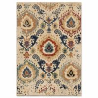 Orian Rugs Distressed Trinidad 5'3 x 7'6 Area Rug in Beige