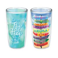 Tervis® Flip Flop Tropical Destination 16 oz.Wrap Tumbler 2-Pack