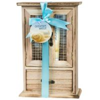 Freida & Joe Oceanside Breeze Wood Curio Spa Set