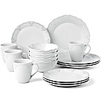 Lenox® French Carved™ Scalloped 16-Piece Dinnerware Set